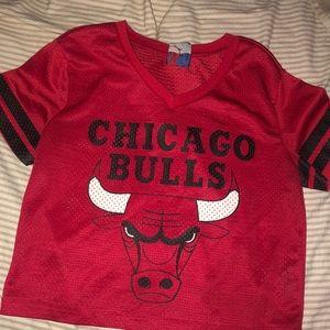 Chicago bulls crop top ❤️